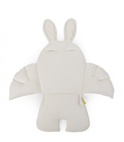 Childhome, Uniwersalny ochraniacz-poduszka Królik biały