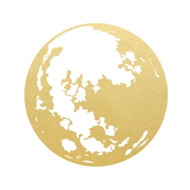 Dekornik, Naklejka Nad Mebelki Złoty Księżyc