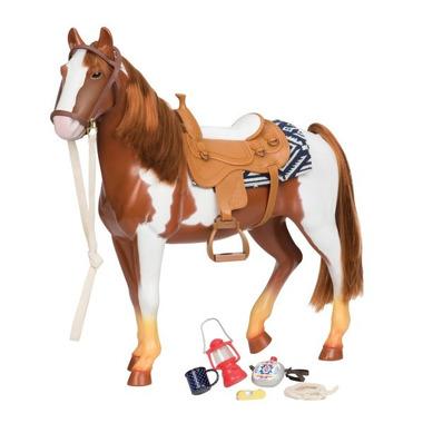 Our Generation, Duży koń dla lalki 46cm - SROKATY