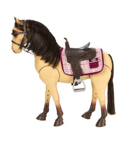 Our Generation Duży Koń Dla Lalki 46cm BuŁany
