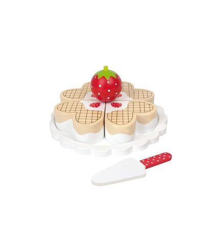 JaBaDaBaDo, Drewniany waflowy tort