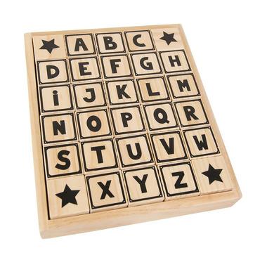 JaBaDaBaDo, Drewniane klocki alfabet