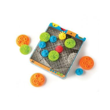 Fat Brain Toy, Gra Logiczna Kółka Zębate - Crankity