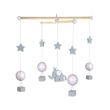 JaBaDaBaDo, Drewniane mobile balony różowe