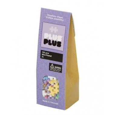 Plus-Plus, klocki konstrukcyjne Mini Pastel 100 szt