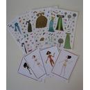 Karty i naklejki Djeco - MODA Historyczna