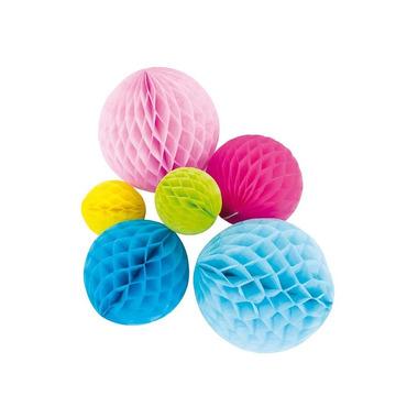 JaBaDaBaDo, Rozety papierowe kule - 6szt mix kolorów