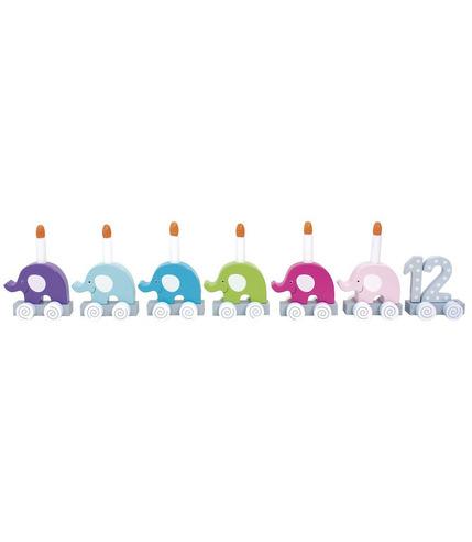 JaBaDaBaDo, Pociąg urodzinowy słonie