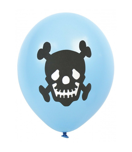 JaBaDaBaDo, Balony pirackie - czaszka