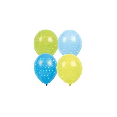 JaBaDaBaDo, Balony niebieskie w kropki 8szt.