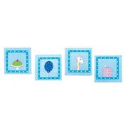 JaBaDaBaDo, Zestaw 20 serwetek niebieskich mix