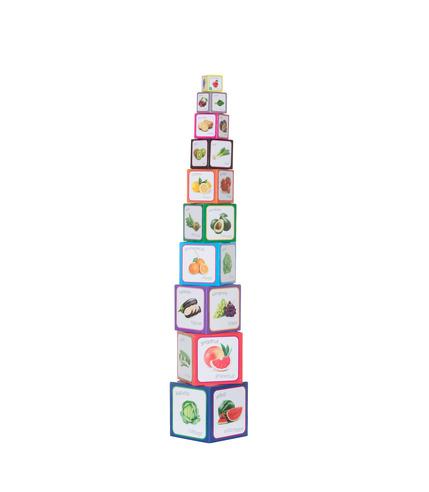 Piramida Zabaw - owoce i warzywa