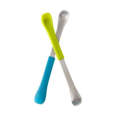 Boon, Dwustronne łyżeczki Blue/Green Boon