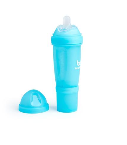 Herobility, Butelka antykolkowa Herobottle 340 ml, niebieska