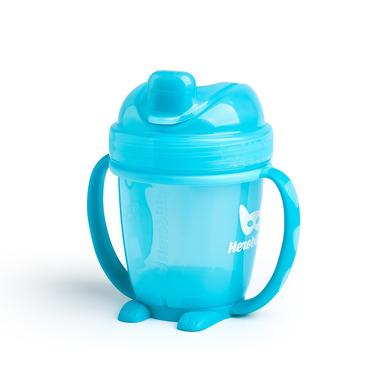 Herobility, Kubek niekapek HeroSippy 140 ml, niebieski