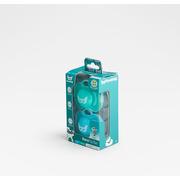 Herobility, Smoczek uspokajający HeroPacifier, 0 m+, niebieski/turkusowy, 2 szt.