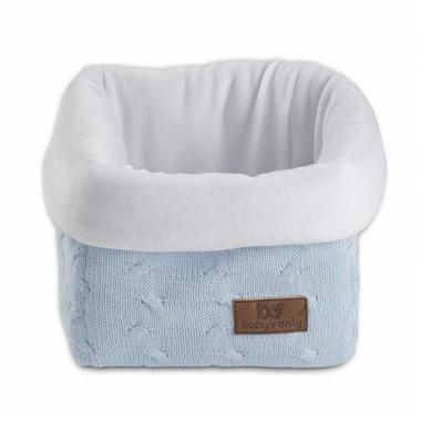 Baby's Only, Cable Baby Blue Koszyk na przybory 17x20x14 cm, Niebieski