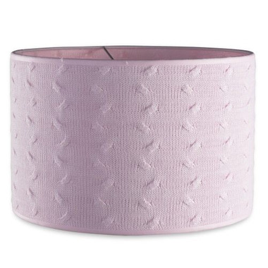 Baby's Only, Cable Baby Pink Abażur na lampę, Różowy, 30 cm