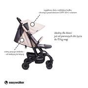 Easywalker, Buggy XS Wózek spacerowy z osłonką przeciwdeszczową Monaco Apero