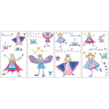 RoomMates, naklejki  wielokrotnego użytku - Bajkowe księżniczki