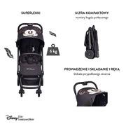 Easywalker, Disney by Easywalker Buggy XS Wózek spacerowy z osłonką przeciwdeszczową Mickey Diamond