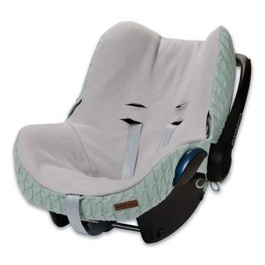 Baby's Only, Cable Mint Ochraniacz na fotelik samochodowy 0+, miętowy