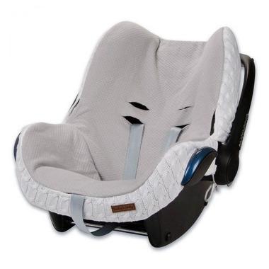 Baby's Only, Cable White Ochraniacz na fotelik samochodowy 0+, biały