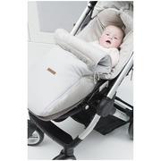 Baby's Only, Classic woolwhite, Śpiworek do wózka, biały