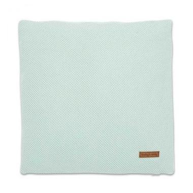 Baby's Only, Classic, Klasyczna poduszka, 40x40cm, miętowy