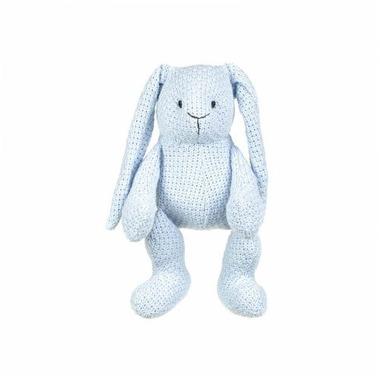 Baby's Only, Robust Blue Przytulanka Zajączek 30cm, niebieski
