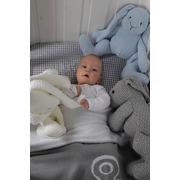 Baby's Only, Robust Framboise Przytulanka Zajączek 30cm, malinowy
