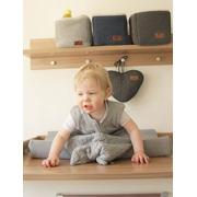 Baby's Only, Robust Framboise Koszyk na przybory 17x20x14 cm, malinowy