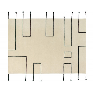 Lorena Canals, Wool Rug Nordic Lines Natural