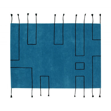 Lorena Canals, Wool Rug Nordic Lines Petroleum