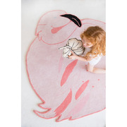 Lorena Canals, Wool Rug Lola The Flamingo