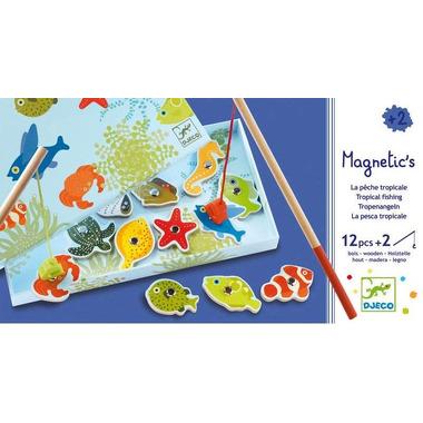 Djeco, gRA EDUKACYJNA WĘDKOWANIE Tropikalne rybki