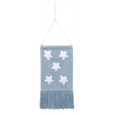 Lorena Canals, Wall Hanging Stars Blue