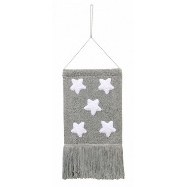 Lorena Canals, Wall Hanging Stars Grey