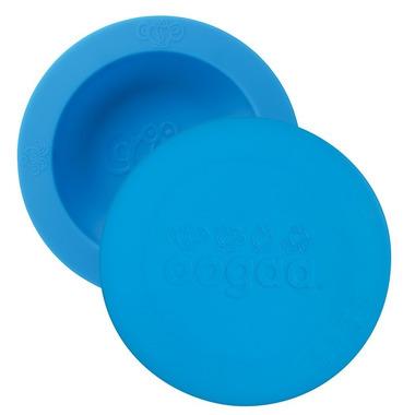 Oogaa, Blue Bowl & Lid silikonowa miseczka z pokrywką