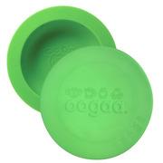 Oogaa, Green Bowl & Lid silikonowa miseczka z pokrywką