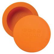 Oogaa, Orange Bowl & Lid silikonowa miseczka z pokrywką
