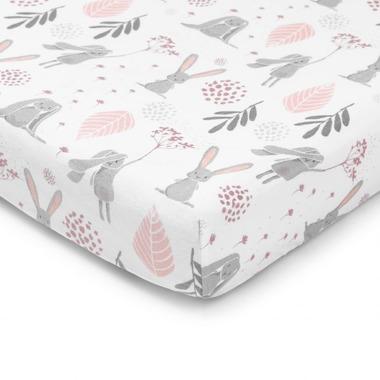 ColorStories, Prześcieradło do łóżeczka Bunny 140×70 cm