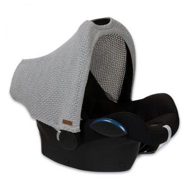Baby's Only, Robust Light Grey Daszek wymienny na fotelik samochodowy 0+, jasny szary