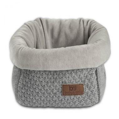 Baby's Only, Robust Light Grey Koszyk na przybory 17x20x14 cm, jasny szary