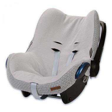 Baby's Only, Robust Light Grey Ochraniacz na fotelik samochodowy 0+, jasny szary