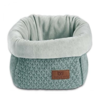 Baby's Only, Robust Stone Green Koszyk na przybory 17x20x14 cm, kamienna zieleń
