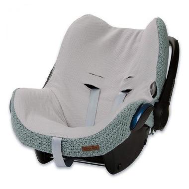 Baby's Only, Robust Stone Green Ochraniacz na fotelik samochodowy 0+, kamienna zieleń