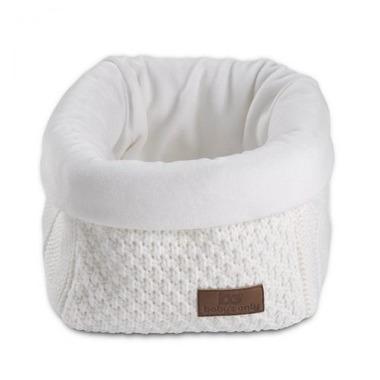 Baby's Only, Robust White Koszyk na przybory 17x20x14 cm, biały