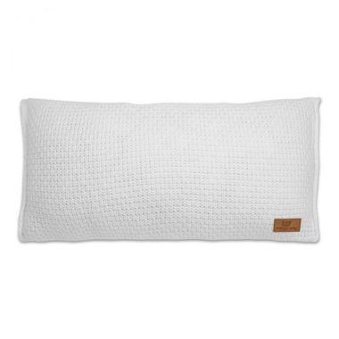 Baby's Only, Robust White Poduszka z tkaną powłoczką, 60x30cm, biała
