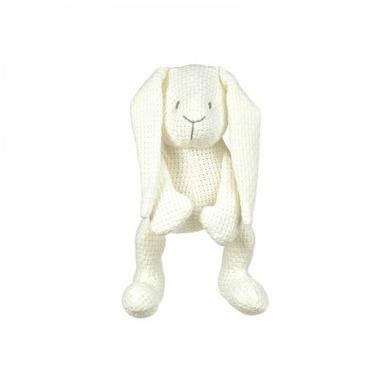 Baby's Only, Robust White Przytulanka Zajączek 30cm, biały